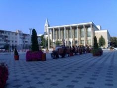 Culture House - Bacau Romania, Street View, Culture, Mansions, Country, House Styles, Beautiful, Home, Manor Houses