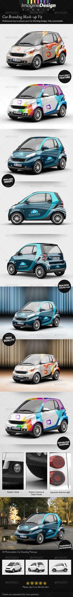 Car Branding Mock-up V2 Download here: https://graphicriver.net/item/car-branding-mockup-v2/5218891?ref=KlitVogli