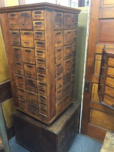 vpow-nut-and-bolt-cabinet | {Wooden Decor} | Pinterest | Vintage ...