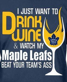 🍷😀💙 Funny Hockey Memes, Hockey Baby, Leaf Crafts, Hockey Games, Toronto Maple Leafs, Montreal Canadiens, Good Ole, Lol, Die Hard