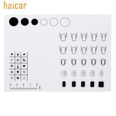Cheap stamping template, Buy Quality nail art silicone directly from China stamping tool Suppliers: HAICAR 1pc Nail Art Silicone Workspace Stamping Template Washable Mat Table Transfer Tools For Nail Art160810 Drop Shipping