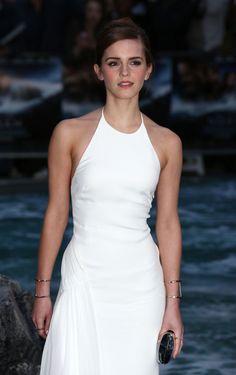 Emma Watson in Ralph Lauren.
