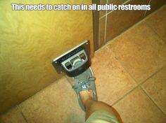 9 Best Foot Door Openers Images Door Opener Bathroom