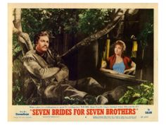 Seven Brides for Seven Brothers POSTER Movie Style C 11 x 14 Inches - x (Howard Keel)(Jane Powell)(Russ Tamblyn)(Julie Newmar)(Jeff Richards)(Tommy (Thomas) Rall)(Virginia Gibson) Howard Keel, Julie Newmar, Name Wall Art, We Movie, Affordable Wall Art, Cool Posters, Movie Posters, Canvas Frame, Wall Art Prints