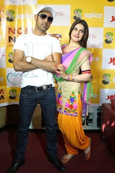 Promotion of the Film Jatt James Bond in Noida