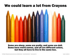 Crayons   http://nochance.hubpages.com/hub/My-Take-on-Life
