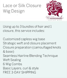 The Weaveanista Custom Wigs Designing wigs that fit perfectly! Order at styleseat.com/theweaveanista or text 404-825-6575 #theweaveanistacustomwigs #wigdesigner #customwigs #laceclosurewig #upartwig #frontalwig #wiglife #atlantawigdesigner #fullwig #protectivestyling #mywigslastlongerthanyoursewin