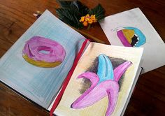 Del cuaderno a la calle Abril. Día 22 Daniela Raskovsky  https://www.behance.net/bastadani