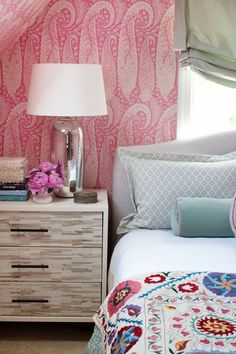 Get To Know Design Dynamo Jamie Meares | The English Room wallpaper!