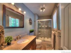 shower door - See this home on Redfin! 6615 Braun Ct, Arvada, CO 80004 #FoundOnRedfin