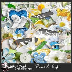 Sweet & Light by Leigh Penrod Digital Designs http://www.godigitalscrapbooking.com/shop/index.php?main_page=index&manufacturers_id=152
