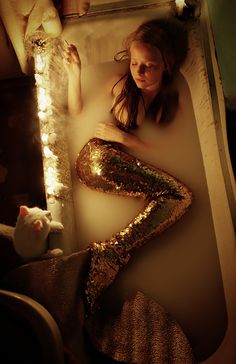 0035PHOTO - Конашук Антон - Не срослись плавниками #mermaid #bath