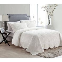 Westland Quilted Plush Bedspread