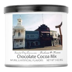 Nevada City Tours California Firehouse #1 Museum Hot Chocolate Drink Mix - unusual diy cyo customize special gift