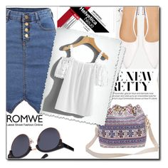 """""""Romwe"""" by semiragoletic ❤ liked on Polyvore"""