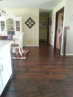 Floors Saratoga Hickory Laminate Home Depot
