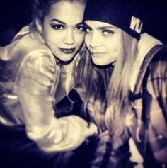 Cara Delevingne & Rita Ora