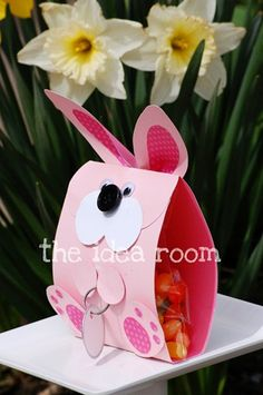 Easter Bunny Treat Bags for kids - bjl
