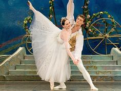 The State Ballet Theater of Russia, Cinderella The appliques on the romantic tutu skirt are a lovely touch.