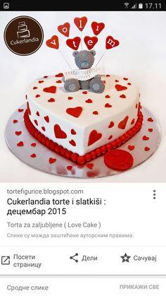 Love Cake, Desserts, Food, Tailgate Desserts, Deserts, Essen, Postres, Meals, Dessert