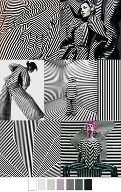 Op Art, Fashion Colours, Colorful Fashion, Color Patterns, Print Patterns, Estilo Navy, Arte Fashion, Winter Typ, Fashion Forecasting