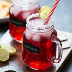 Cranberry Ginger Holiday Cocktail recipe is a chilled, refreshing vodka based drink that can be made in a pitcher and is perfect for a crowd