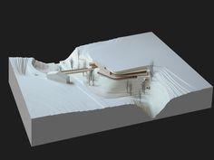 architectural model, maquette, modelo