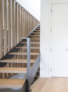 stairs #steelplatestringer| MacDonald Park House