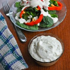 Vegan Ranch Dressing--I cannot WAIT to try this! I miss ranch dressing so much after going GFCF (and always tried to cut down on MSG and preservatives)