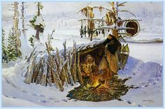 fur traders and mountain men | The life of the fur trapper was often lonely, usually dangerous, and ...