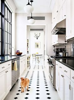 8 Amazing Galley Kitchens—and How to Make the Most of Yours via @MyDomaine