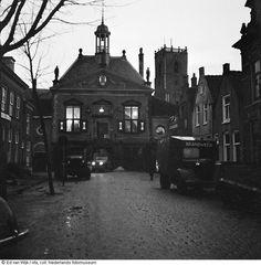 Middelharnis gemeentehuis, mijn moeder werd in 1925 in Middelharnis geboren.