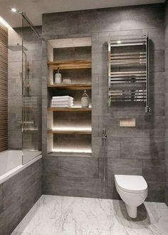 Bathroom decor for your master bathroom remodel. Learn bathroom organization, master bathroom decor tips, master bathroom tile a few ideas, master bathroom paint colors, and more. Best Bathroom Designs, Modern Bathroom Design, Bathroom Interior Design, Minimal Bathroom, Modern Bathrooms, Bath Design, Toilet And Bathroom Design, Modern Bathtub, Classic Bathroom