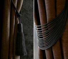Masai Houles tie backs