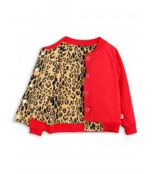 Mini Rodini LEOPARD Reversible Sweatjacket. Mini Rodini LEOPARD Reversible Sweatjacket.