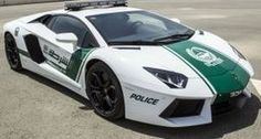 Only in Dubai - Lamborghini patrol car