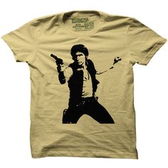 Han Solo Star Wars T-Shirt -Multiple Colors and Styles-- $20.00