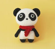 Momo The Panda Amigurumi Pattern