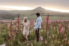 couple shoot photography field flowers hills mountains sunset Mountain Sunset, Couple Shoot, Couple Photography, Africa, Mountains, Couples, Flowers, Wedding, Instagram
