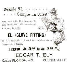 Corsets #1900 #argentina #buenosaires #vintage #ads