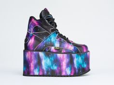 Buffalo X Solestruck Platform in Cosmic at Solestruck.com