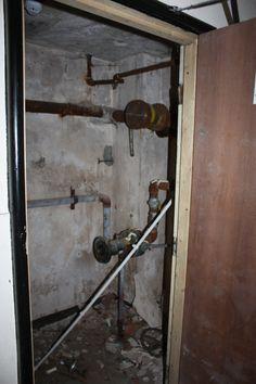 vandalised pipes