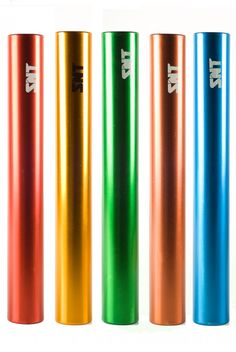 Athletics | Aluminium Relay Batton Junior Set of 8
