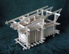 Sculpture Architectural Model Cabin