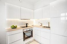 perfect little white kitchen