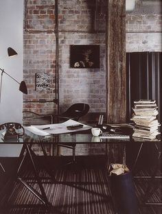One of the biggest drives for me as a blogger and illustrator is the  thought that when I'm able to make a living from it full time I'll have the  most amazing home office space. I can get lost on Pinterest for hours,  trawling through hundreds of pins, imagining myself sat at that very desk .