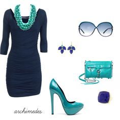 The Blues, created by archimedes16 on Polyvore