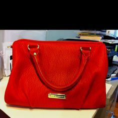 22c80d7bcd My new Steve madden orange bag. In love with this! Orange Bag