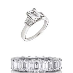 Brides: How To Pick A Wedding Band That Works With Your Engagement Ring | Wedding Dresses & Style | Brides.com | Wedding Ideas
