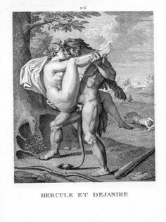 Hercules and Deianira - Agostino Carracci....sex... good thing he is strong bc she looks heavy